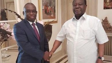 """Photo de Côte d'Ivoire/ A la demande de Macky Sall, Bédié reçoit KKB et lui dit ses vérités: """" Que chacun suive son chemin dans la paix"""""""