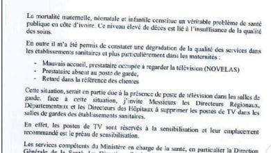 Photo de Côte d'Ivoire/  Les sages-femmes passent leur temps à regarder la télévision: le ministère frappe
