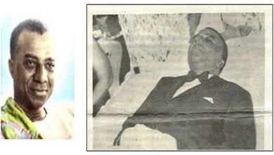 Photo de Togo/ Le Président Sylvanus Olympio abattu le 13 janvier 1963: il voulait quitter le Franc CFA