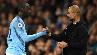 Photo de Yaya Touré : « Guardiola et moi parlions après l'entraînement »